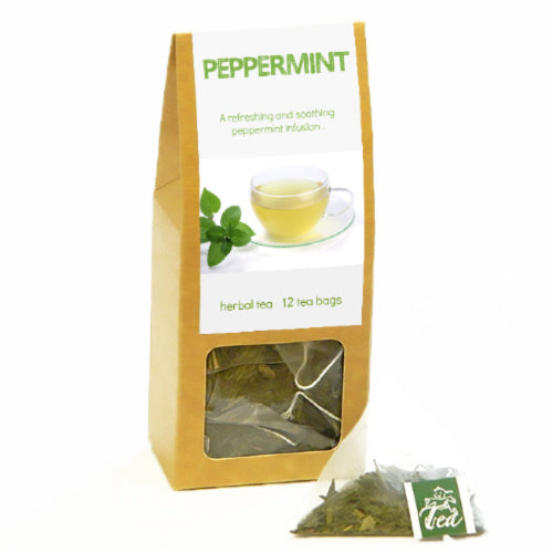 p-box, peppermint - Tea Desire