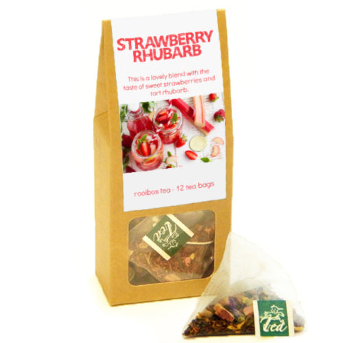 p-box, strawberry-rhubarb - Tea Desire
