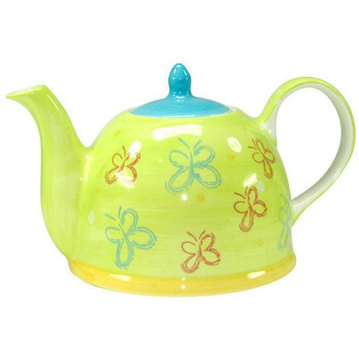 teapot fancy butterflies - Tea Desire