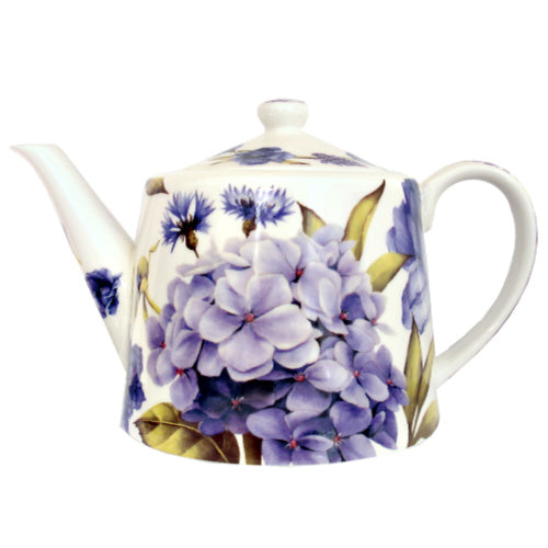 teapot fbc blue flower - Tea Desire