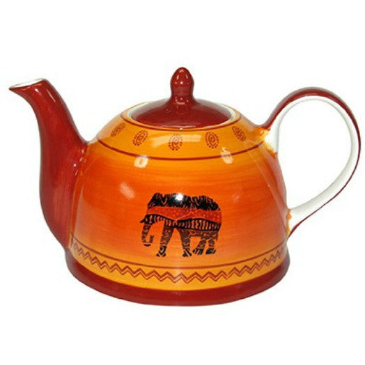 teapot sw african orange - Tea Desire
