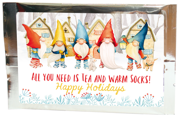 tea greetings:  winter gnomes - Tea Desire