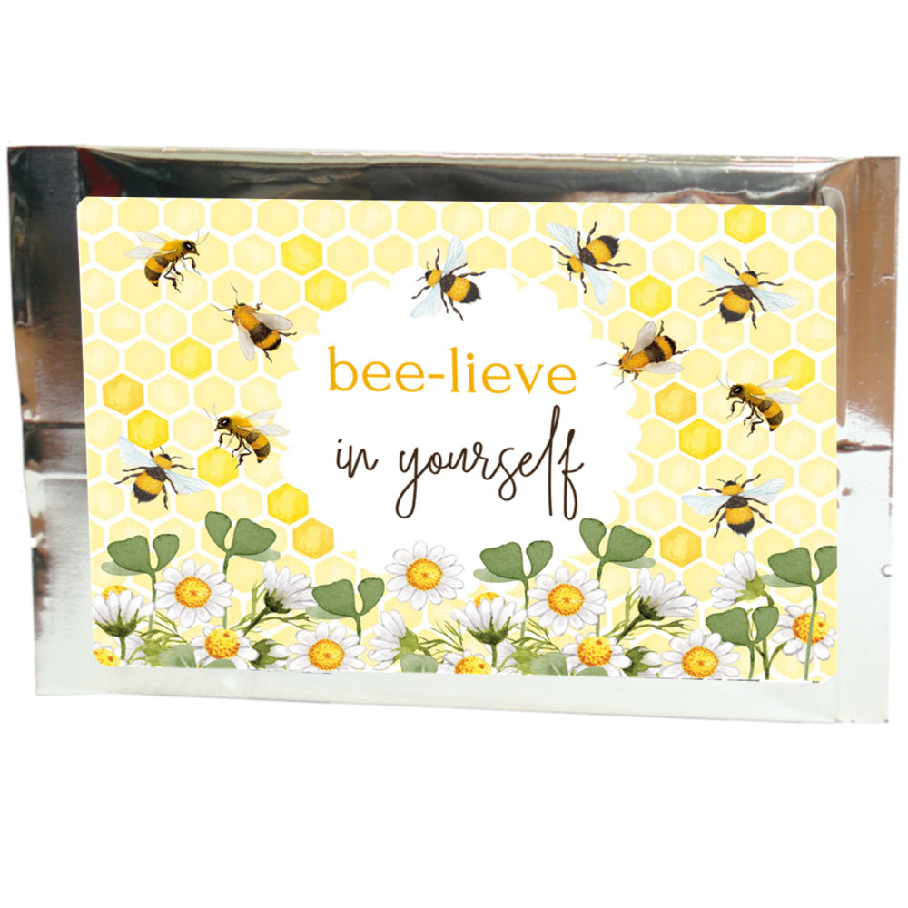 tea greetings: bee-lieve in yourself - Tea Desire