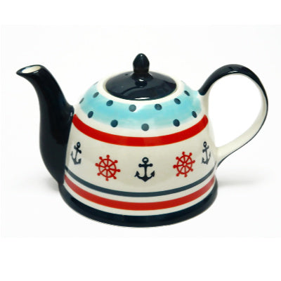 teapot anchor and wheel - Tea Desire