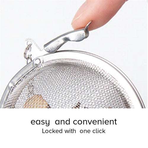 tea ball infuser in mesh - Tea Desire