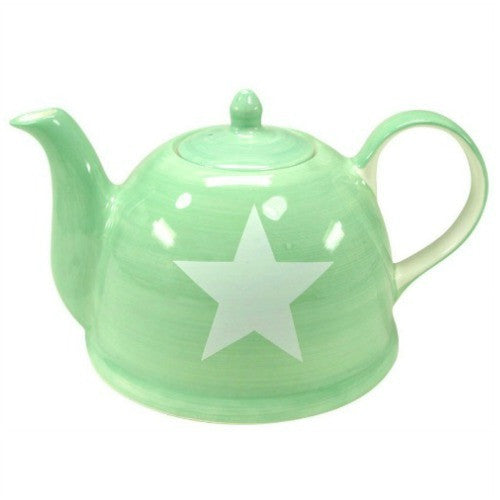 teapot star white - Tea Desire