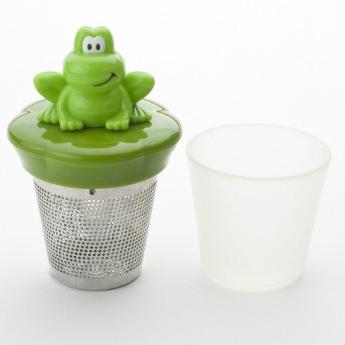ribbit floating infuser - Tea Desire
