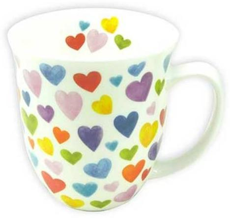mug happy hearts - Tea Desire