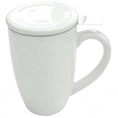mug sw white with infuser - Tea Desire