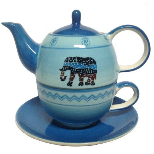 tea for one african blue - Tea Desire