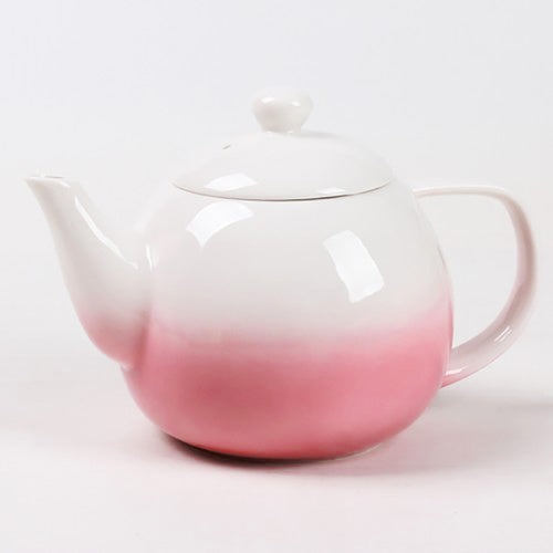dawn teapot pink with infuser - Tea Desire