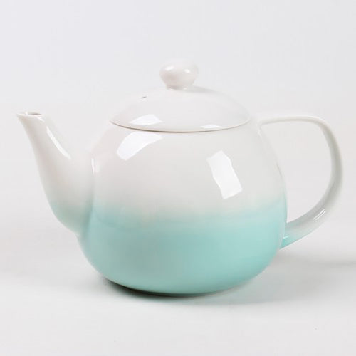 dawn teapot green with infuser - Tea Desire
