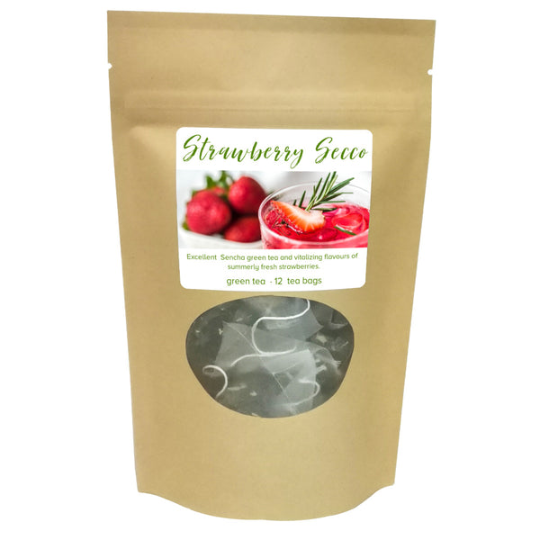 strawberry secco, bag of 12 - Tea Desire