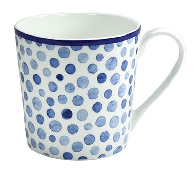 mug nordic blue dots - Tea Desire