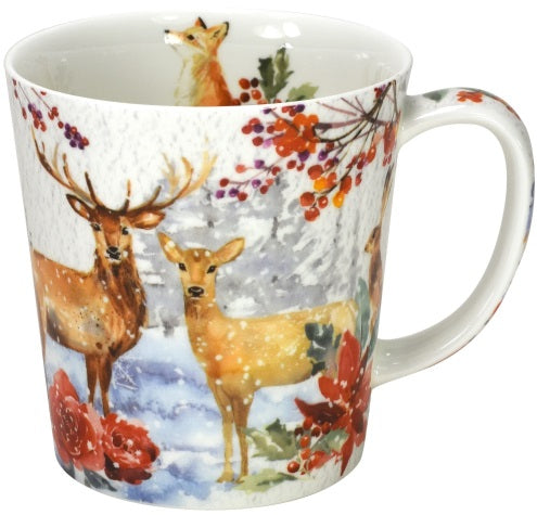 mug winter forest - Tea Desire