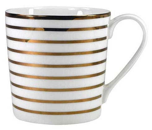 mug golden stripes - Tea Desire