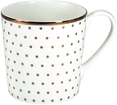 mug golden dots - Tea Desire