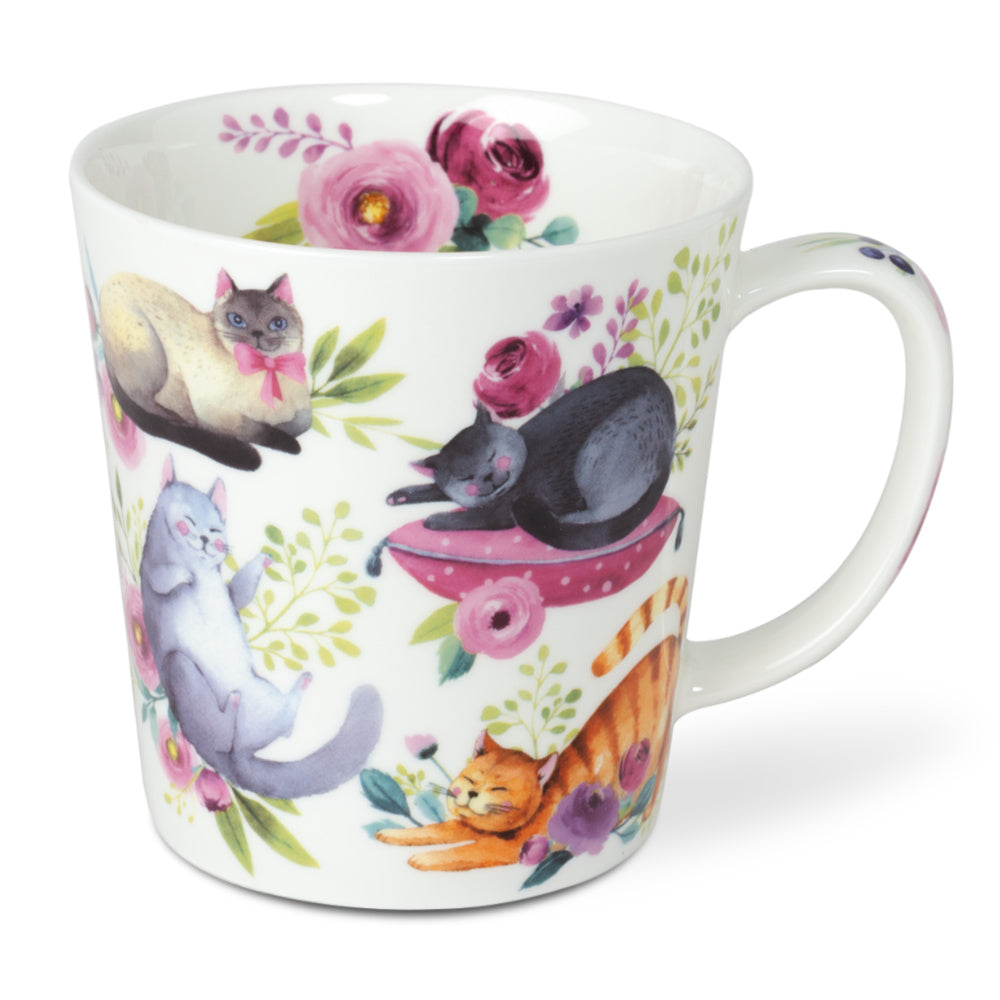 mug big sleepy cats - Tea Desire