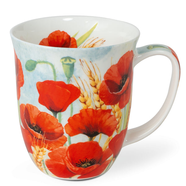 mug poppies - Tea Desire