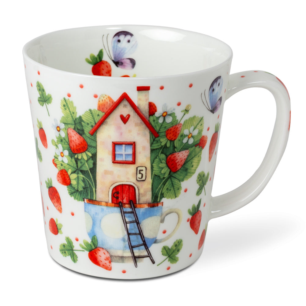 mug strawberry-land - Tea Desire
