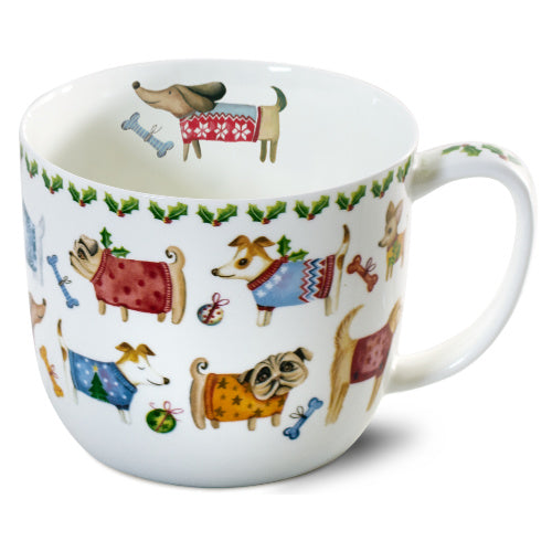 jumbo mug happy pug & friends - Tea Desire