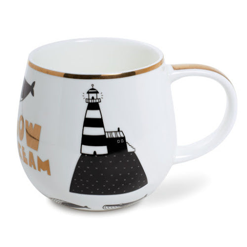 belly-mug lighthouse - Tea Desire