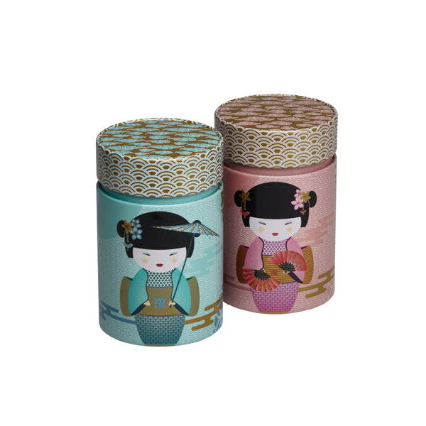 Tea Storage Tin Little Geisha by Eigenart  @ Tea Desire