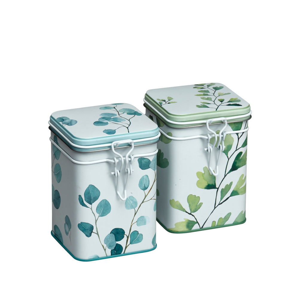 Tea Storage Tins Trees by Eigenart @ Tea Desire