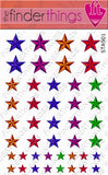 Nautical Star Nail Art Decal Sticker Set - The FinderThings