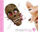 Haloween Voodoo Mask Nail Art Decal Sticker Set - The FinderThings