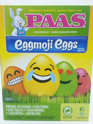 PAAS Eggmoji Eggs Easter Egg Coloring Kit