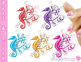 Seahorse Designer Mix Nail Art Decal Sticker Set - The FinderThings