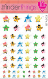 Kawaii Movie Stars Kute Nail Art Decal Stickers - The FinderThings