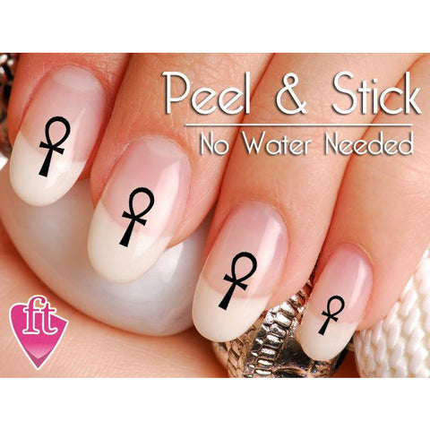 Ankh Symbol Nail Art Decal Sticker Set - The FinderThings