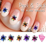 Hair Dresser Stylist Splash Nail Art Decal Sticker Set - The FinderThings