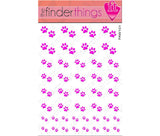 Pink Paw Nail Art Decal Sticker Set - The FinderThings