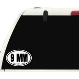 9MM Shooter Sticker Decal - Firearms Sports Bumper Sticker - The FinderThings