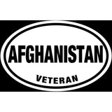 Afghanistan Veteran Sticker Decal - American Hero Bumper Sticker