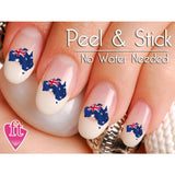 Australia Flag Country Nail Art Decal Sticker Set - The FinderThings