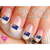 Australia Flag Nail Art Decal Sticker Set - The FinderThings