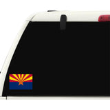 Arizona State Flag Sticker Decal - The Grand Canyon State Bumper Sticker