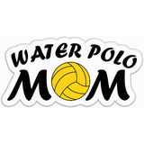 Water Polo Mom Sticker with Polo Ball - The FinderThings