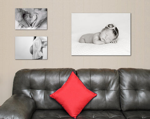 Custom Pregnancy New Born Baby Quality Pictures Canvas Prints Pick one - Free Shipping -
