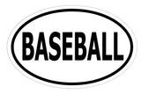Baseball Sticker Decal - Baseball Player and Fan Bumper Sticker - The FinderThings