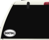 Basketball Sticker Decal - Basketball Fan or Player Sports Bumper Sticker - The FinderThings