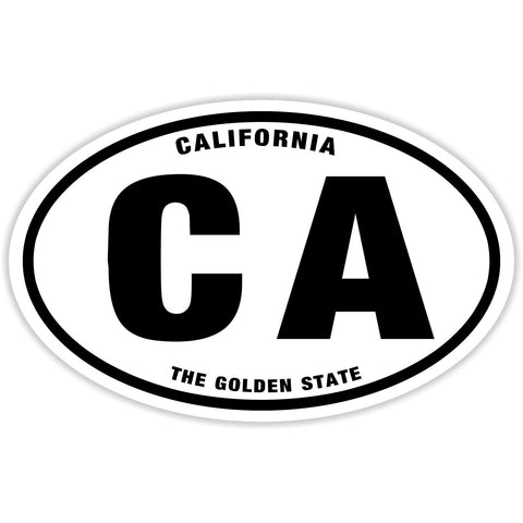 State of California Sticker Decal - The Golden State Bumper Sticker - The FinderThings