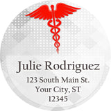 Class of 2019 Graduation Medical School Personalized Return Address Labels - The FinderThings