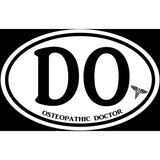 Osteopathic Doctor DO Sticker Decal - Medical Care D.O. Bumper Sticker - The FinderThings