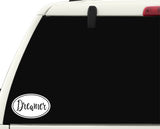 Dreamer Sticker Decal - Dreaming Bumper Sticker - The FinderThings