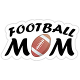 Football Mom Sticker with Football - The FinderThings